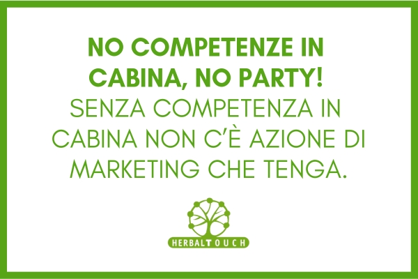 NO COMPETENZE IN CABINA, NO PARTY!